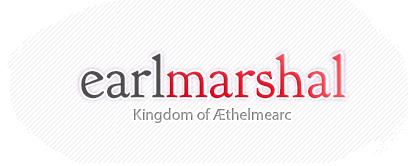 Æthelmearc Earl Marshal